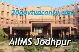 AIIMS Jodhpur Recruitment 2021 - Apply Online for Faculty Posts