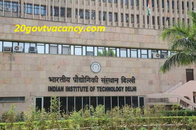 IIT Delhi Recruitment 2021 - Apply Online for Project Scientist Posts