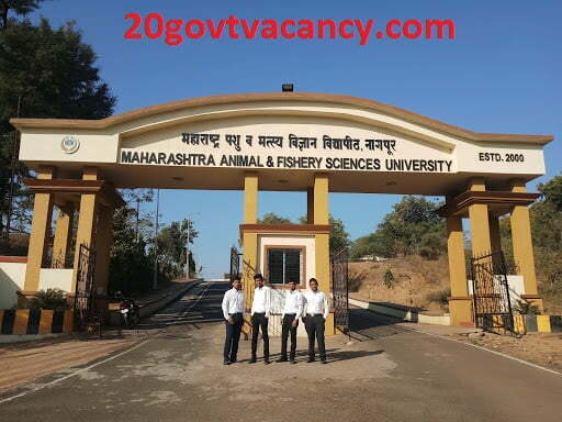 MAFSU Nagpur Recruitment 2021 Jobs In Maharashtra Animal & Fishery Sciences University, Nagpur