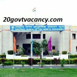 NBFGR Lucknow Recruitment 2021 Jobs In National Bureau of Fish Genetic Resources, Lucknow Uttar Pradesh