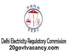 DERC New Delhi Recruitment 2021 Jobs In Delhi Electricity Regulatory Commission