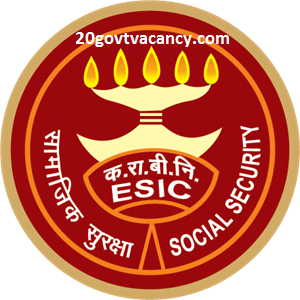 ESIC Odisha Recruitment 2021 Jobs In Employees State Insurance Corporation