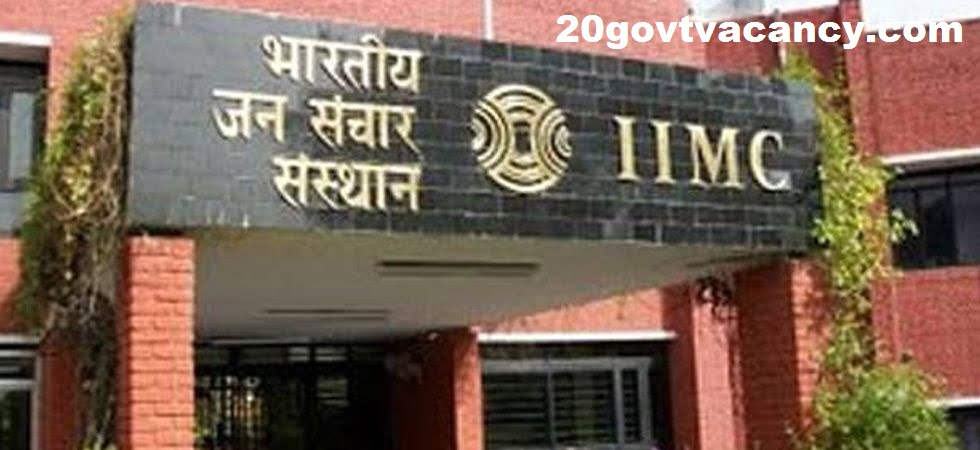 IIMC Kottayam Recruitment 2021 Jobs In Indian Institute of Mass Communication