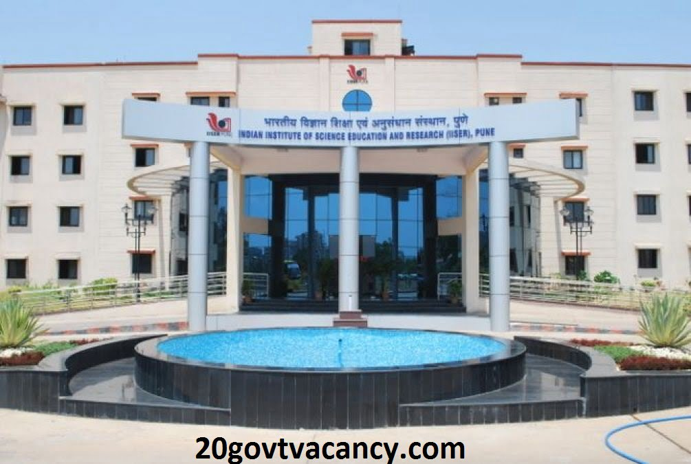 IISER Pune Recruitment 2021 Jobs In Indian Institute of Science Education & Research, Pune