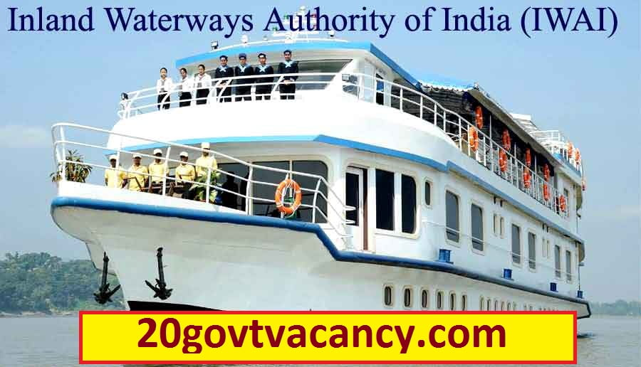 IWAI Noida Recruitment 2020 Jobs In Inland Waterways Authority of India
