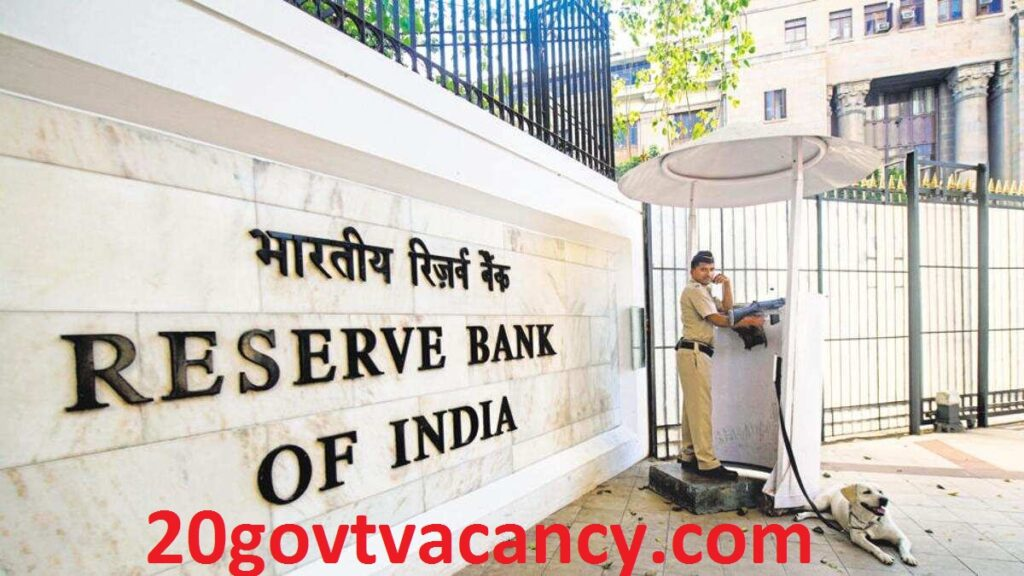 RBI Thiruvananthapuram Recruitment