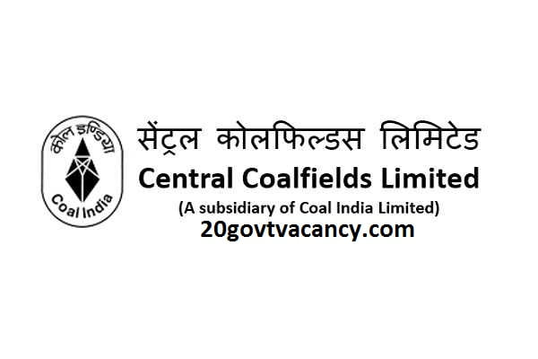 CCL Ranchi Recruitment 2021 Jobs In Central Coalfields Limited