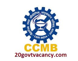 CCMB Recruitment 2021 Jobs In Centre for Cellular & Molecular Biology