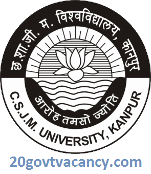 Kanpur University Recruitment 2021 Jobs In Chhatrapati Shahu Ji Maharaj University