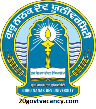 GNDU Recruitment 2020 Jobs In Guru Nanak Dev University
