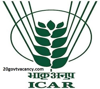ICAR Pune Recruitment 2021 Jobs In Indian Council of Agricultural Research, Pune