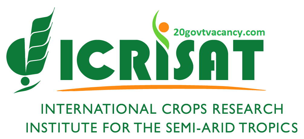 ICRISAT Recruitment 2021 Jobs In International Crops Research Institute for the Semi-Arid Tropics