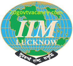 IIM Lucknow Recruitment 2021 Jobs In Indian Institute of Management