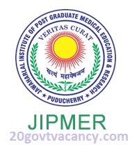 JIPMER Recruitment 2021 Jobs In Jawaharlal Institute of Postgraduate Medical Education and Research