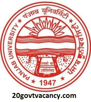 Punjab University Recruitment 2021 Jobs In Panjab University