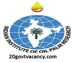 IIOPR Recruitment 2021 Jobs In Indian Institute Of Oil Palm Research