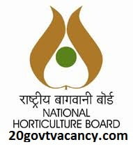 National Horticulture Board Recruitment 2020 Jobs In National Horticulture Board