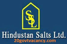 Hindustan Salts Limited Recruitment 2021 Jobs In Hindustan Salts Limited