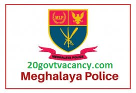 Meghalaya Police Recruitment 2021 Apply Online For Constable, Driver Post