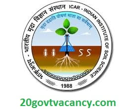 IISS Bhopal Recruitment 2021 Jobs In Indian Institute of Soil Science Bhopal