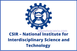 NIIST Recruitment 2021 Jobs In National Institute for Interdisciplinary Science & Technology