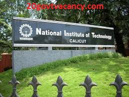 NIT Calicut Recruitment 2021 Jobs In National Institute of Technology