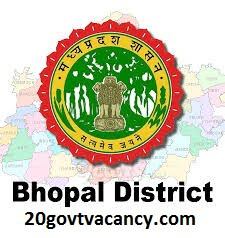 Bhopal District Recruitment 2021 Jobs In Bhopal District