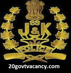 JK Police Recruitment 2021 Apply Online For Constable, Driver