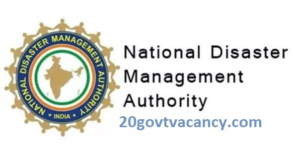 NDMA Recruitment 2021 Jobs In National Disaster Management Authority