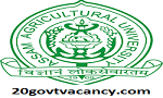 Assam Agricultural University Recruitment