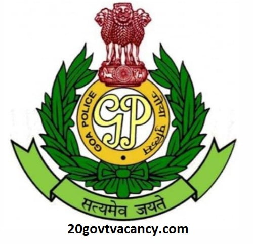 Goa Police Recruitment 2021 Apply Online For Driver Posts