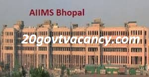 AIIMS Bhopal Recruitment 2020 Jobs In All India Institute Of Medical Science