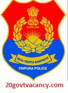 Tripura Police Recruitment 2021  Apply Online For Driver Posts