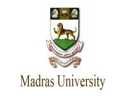 Madras University Recruitment 2021 Apply for Project Fellow Jobs