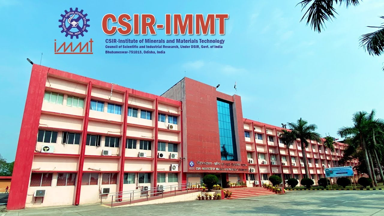 IMMT Bhubaneswar Recruitment 2021 Job In Institute of Minerals and Materials Technology