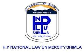 HPNLU Shimla Recruitment