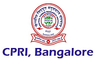 CPRI Bangalore Recruitment